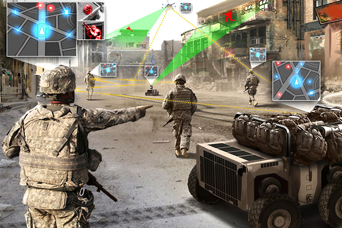 DARPA's vision for Squad X