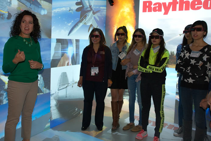 Kendall Loomis, manager of the Immersive Design Center at Raytheon Missile Systems