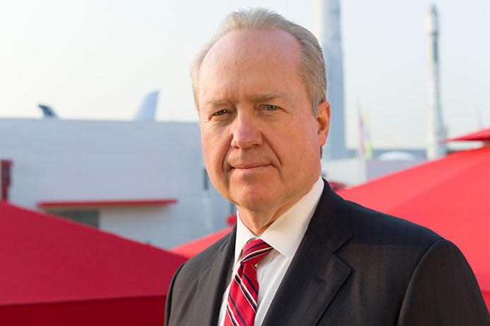 Raytheon Chairman and CEO Tom Kennedy