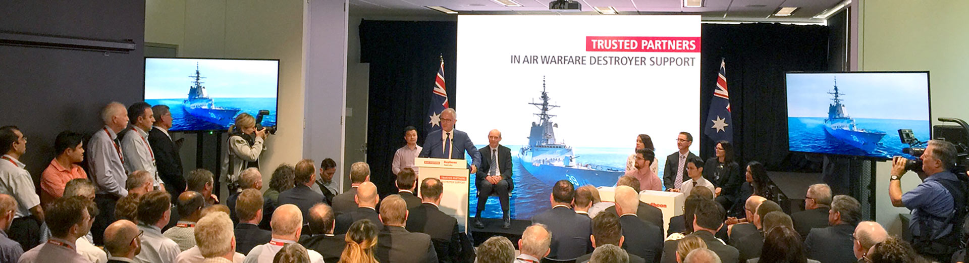 TRUSTED PARTNERS IN AIR WARFARE DESTROYER SUPPORT