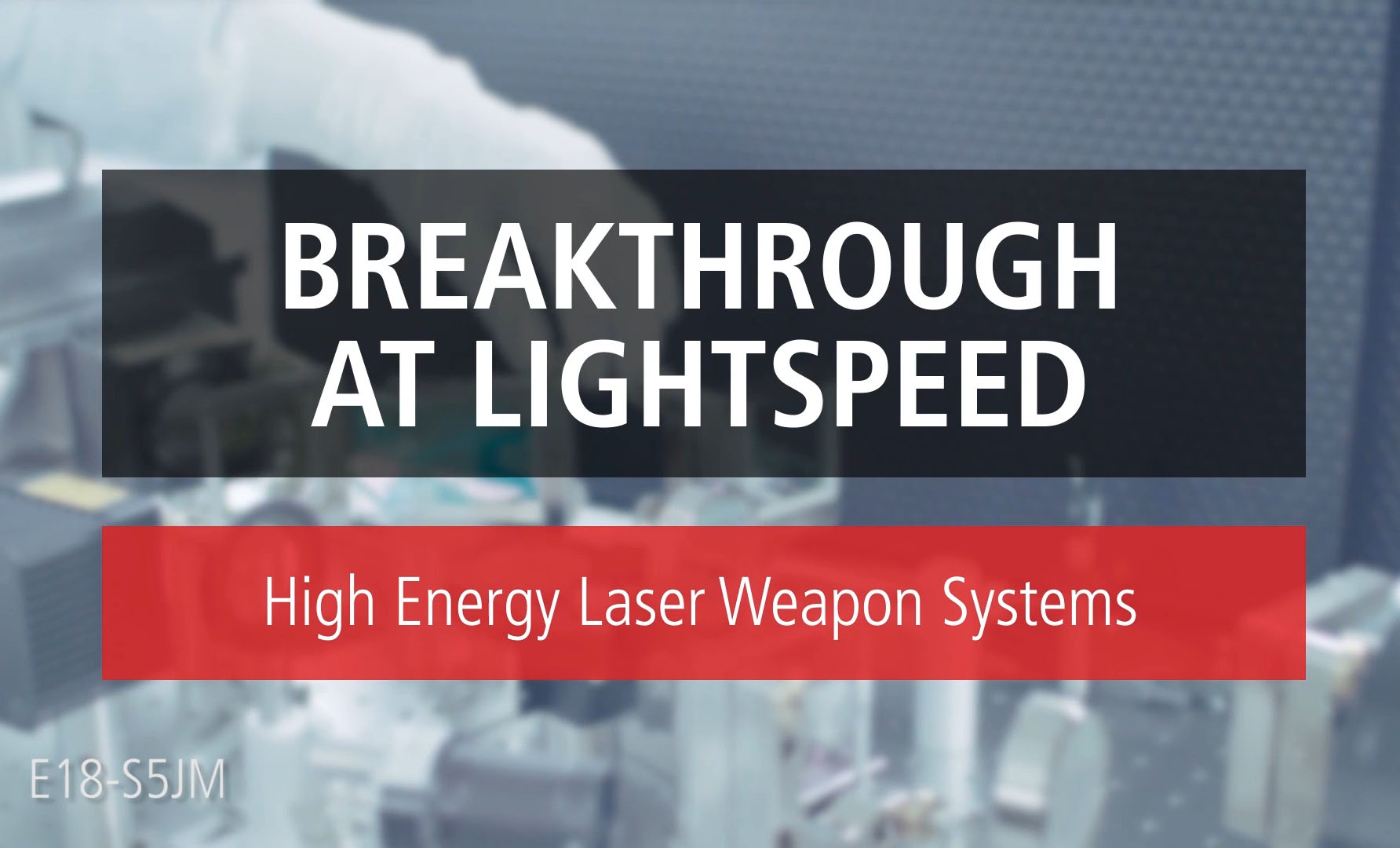 Breakthrough At Light Speed Video