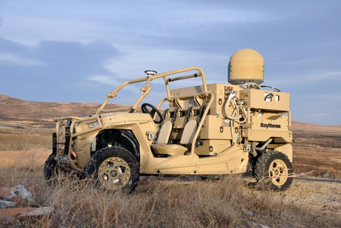 MRZR High Energy Laser Weapon System