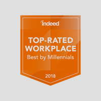indeed Top-Rated Workplace Best by Millennials